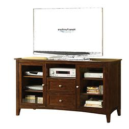 "Culver City Dark Walnut 60"" TV Console"