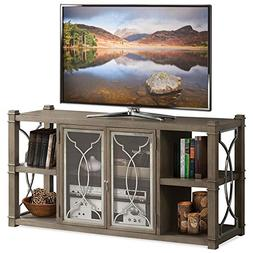 "Riverside Furniture Dara II 60"" TV Stand in Gray Wash"