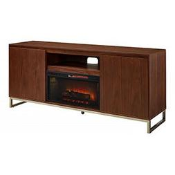 draper cabinet walnut infrared firebox