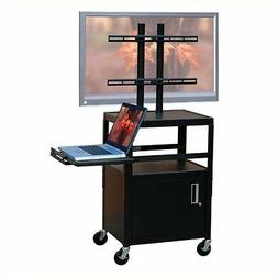 "Entertainment Center Adjustable Cart for up to 32"" Flat Pane"