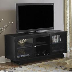entertainment center black tv up to 55