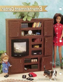 Entertainment Center ~ fits Barbie dolls, Annie's plastic ca