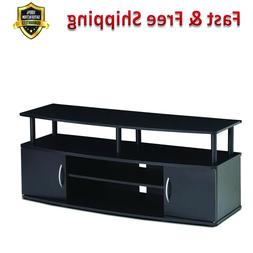 Entertainment Center Hold 50 in TV Composite Wood PVC Tubes