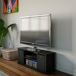 Entertainment Center TV Stand Console Media Cabinet Table Wo