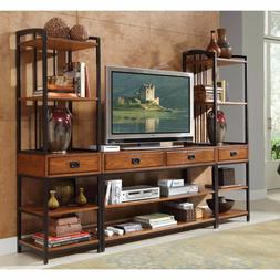 Entertainment Center Wall Unit Media Modern Office Furniture
