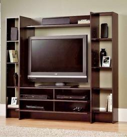 Entertainment Center Wall Unit Storage Cabinet TV Stand Cons