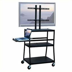 "Entertainment Center Wide Body Cart for up to 42"" Flat Panel"