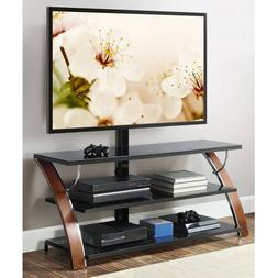 FLAT PANEL TV STAND ENTERTAINMENT CENTER CABINET CONSOLE SHE