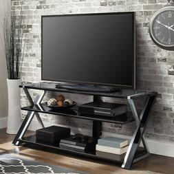 Flat Screen TV Stand Panel 3-in-1 TVs Up To 70-inch Shelves
