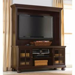"Better Home and Gardens 52"" Flat Screen TV Stand with Hutch,"