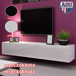Floating TV Stand Wall Mounted Media Console Entertainment C