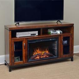 harper infrared electric fireplace center