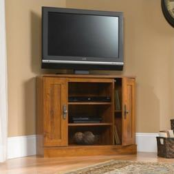 Sauder Harvest Mill Corner Entertainment Stand