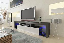 Domovero Helios 250 Modern Floating TV Cabinet wall mounted/