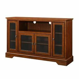 Walker Edison Highboy-Style Black TV Stand for TVs up to 55""