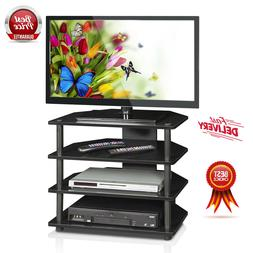 Home Small TV Stand Entertainment System Center Shelves Medi