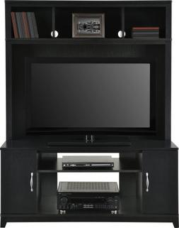 Home TV Stands Wood Entertainment Media Center for Flat Cons