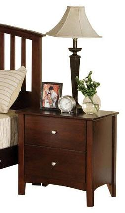 Kutcher Dark Walnut Nightstand