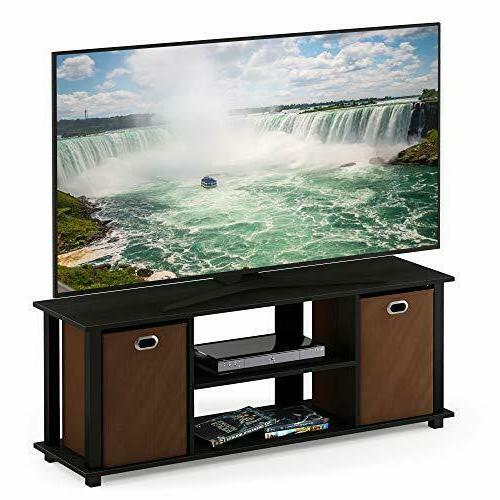 Furinno Econ Entertainment Center Storage Assorted Colors
