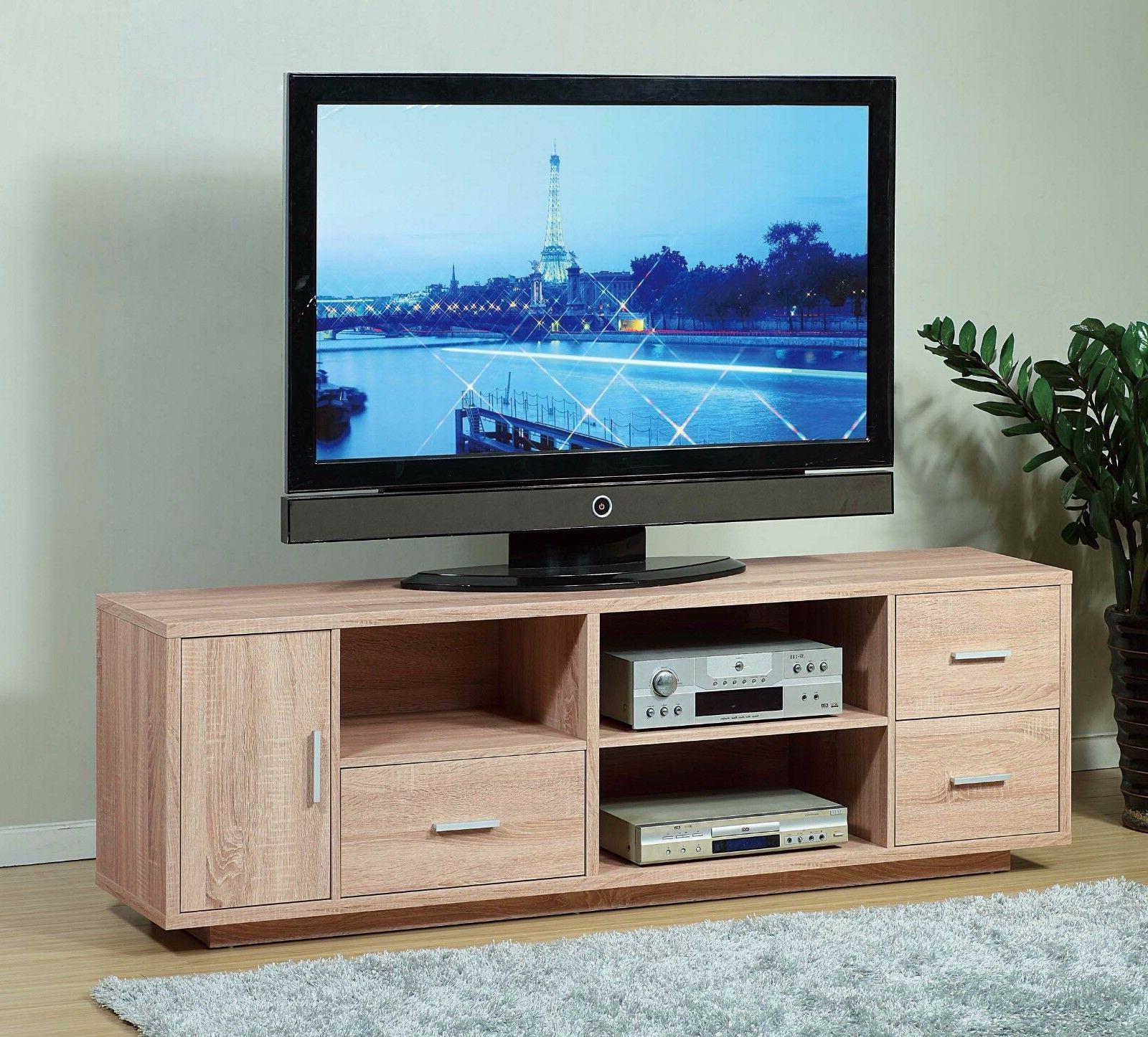 """14899 70"""" Weathered Entertainment Drawers Shelf TV Stand"""