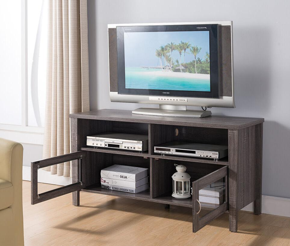 "161566 Smart Home 47"" TV Stand Entertainment Center Console"