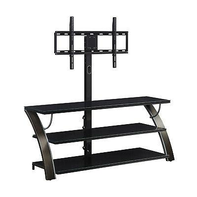 3-in-1 Stand Media Table Furniture 65
