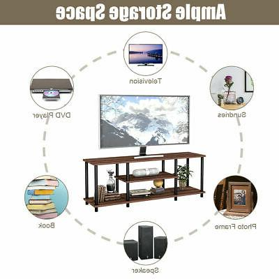 3-Tier TV Stand Media Center for