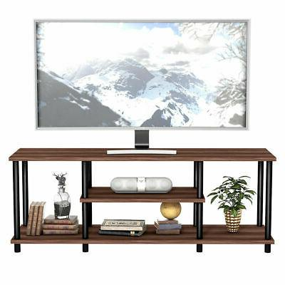 """3-Tier Stand Media Center for 50"""" Brown"""