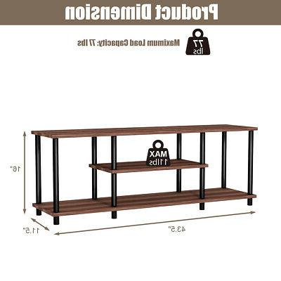 3-Tier TV Stand Media Center Console for