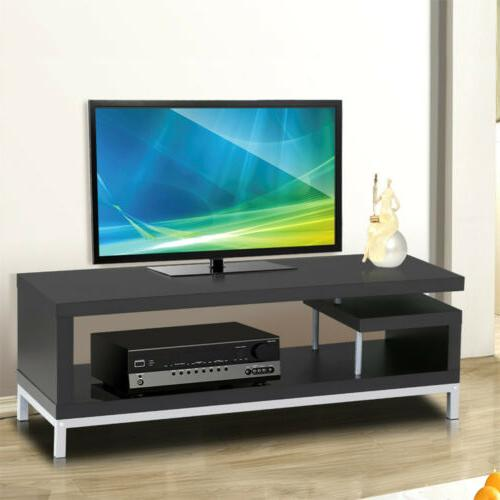 45 tv stand media console entertainment center