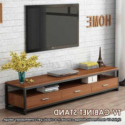 47 tv stand storage cabinet console entertainment