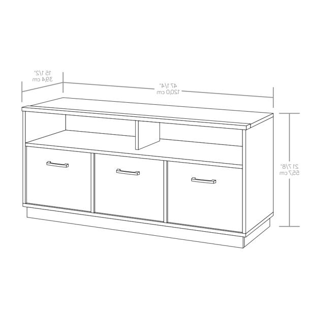 """50"""" Stand Console Cabinet Storage"""