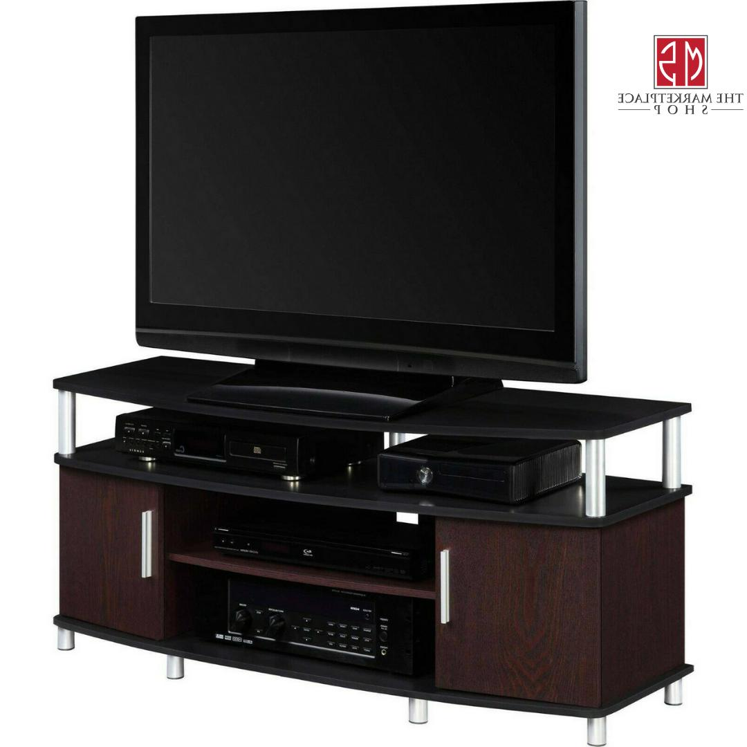 "50"" TV Stand Storage Cabinet Entertainment Table Media"