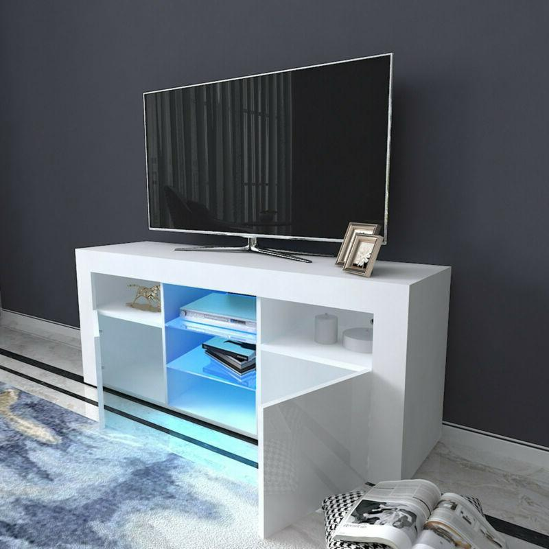 """51"""" High TV Stand Cabinet Light Entertainment for 59"""""""