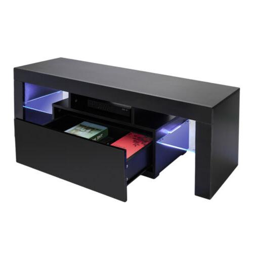 "51"" LED TV Stand Entertainment Furniture Center"