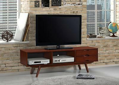 54.75'' Modern Entertainment Center TV Stand w/2 Drawers & 2