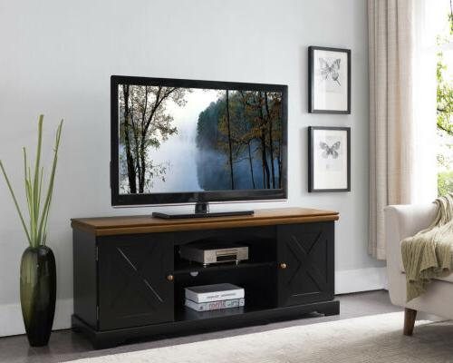 "Kings Brand Furniture - 54"" Wood TV Stand Entertainment Cent"