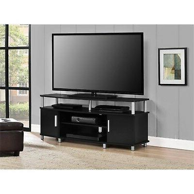 55 Inch Stand Entertainment Unit TV Size Flat Screen Center