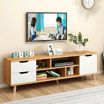 "55"" TV Stand Cabinet Storage Drawer"