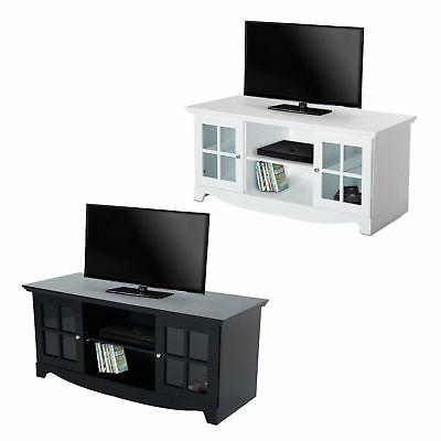 56 tv stand unit cabinet entertainment media