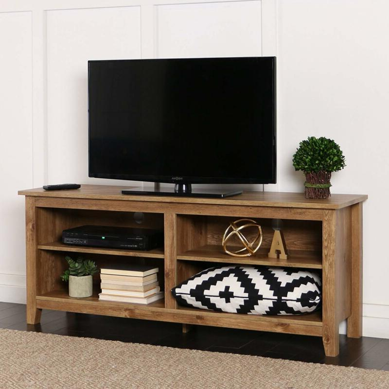 58 Inch Wide Tv Stand Media Storage Finish