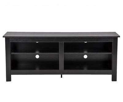 58'' Wood TV Media Stand Storage Console, Entertainment Cent