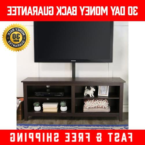 60 Espresso Entertainment Center Flat