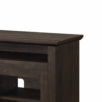 """60"""" Console With Shelves For TVs up 65"""" W/"""
