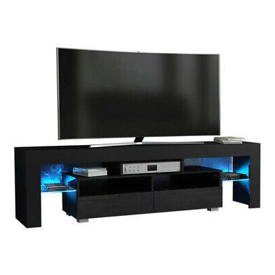 63 tv stand entertainment center led console