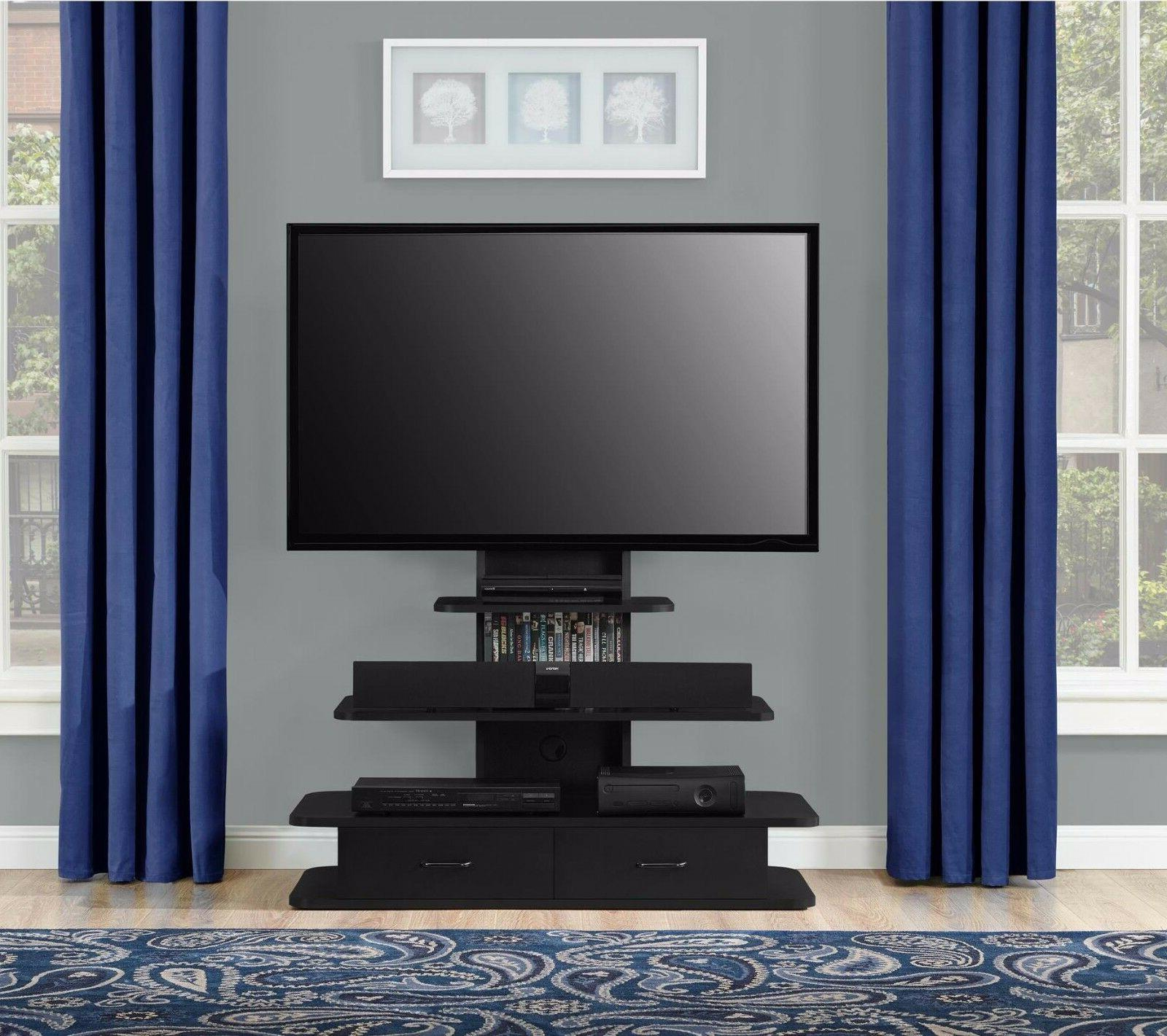 70 Inch TV Stand For Flat Screens Entertainment Center With