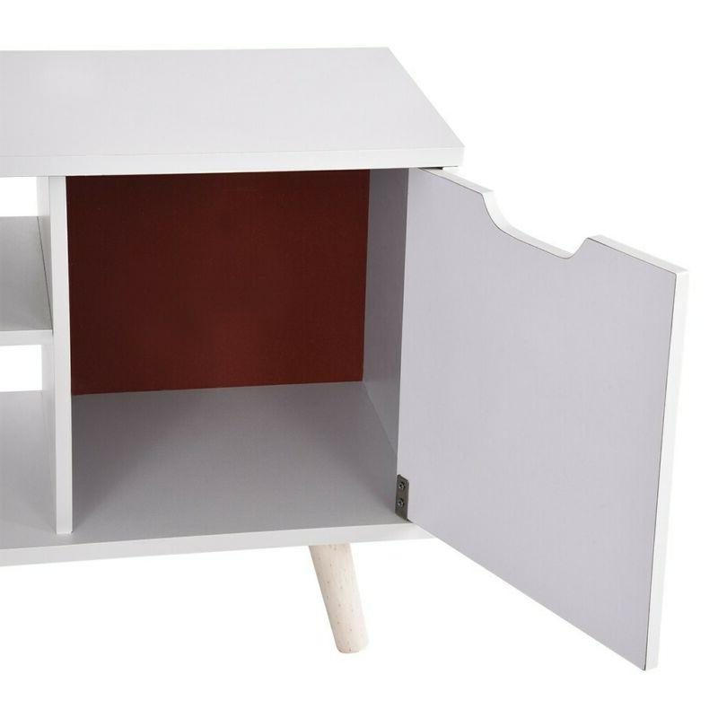 """70""""TV Stand Cabinet Entertainment Center"""