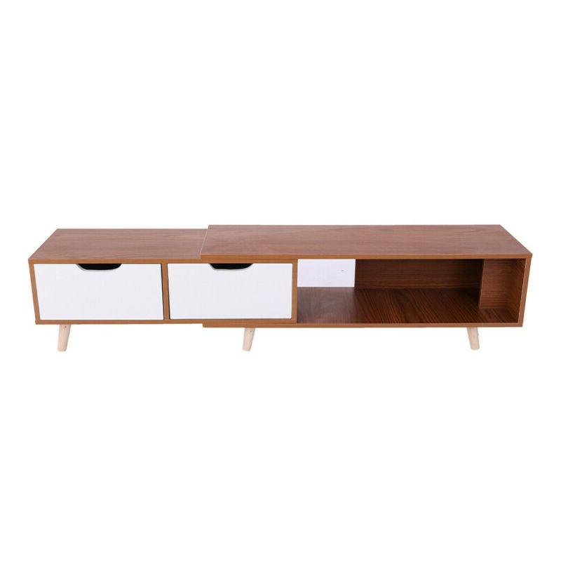 """70""""TV Stand Cabinet Console Entertainment Center"""