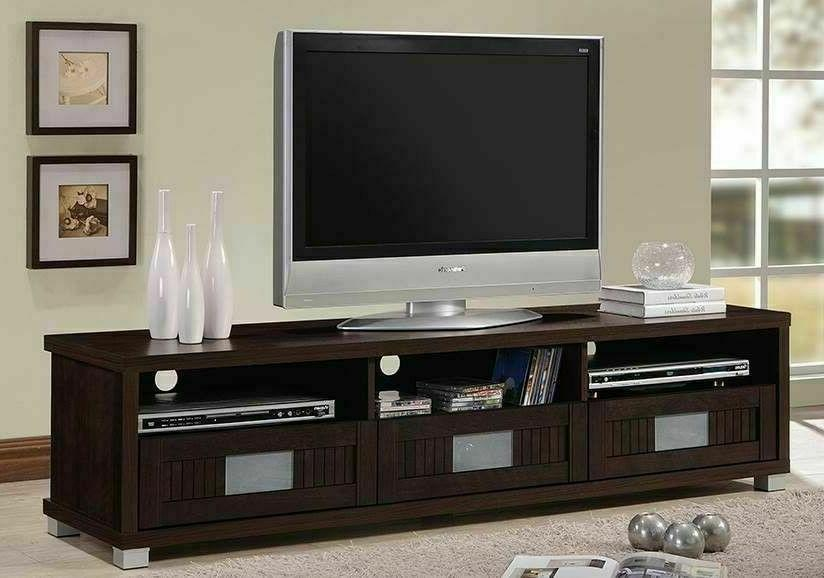 75 Inch Stand with Storage Center Extra Modern