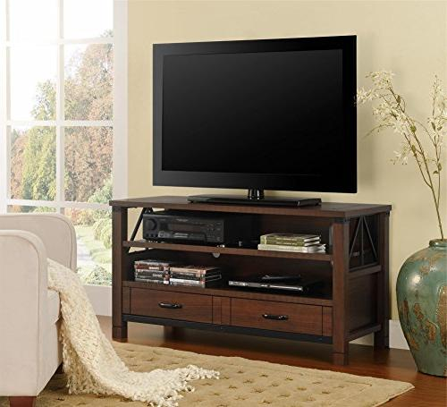 """Ameriwood Home Buchannan Ridge TV Stand for TVs up to 50"""" Wi"""